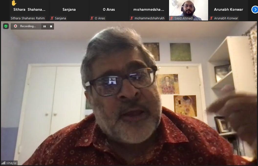 Prof. Vinay Lal, UCLA